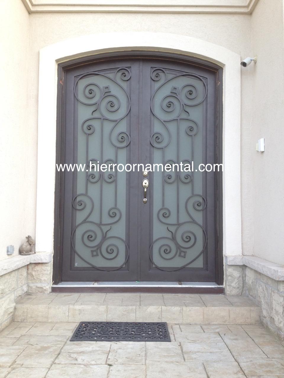 Puerta de hierro forjado 2 detalle producto for Puertas hierro forjado