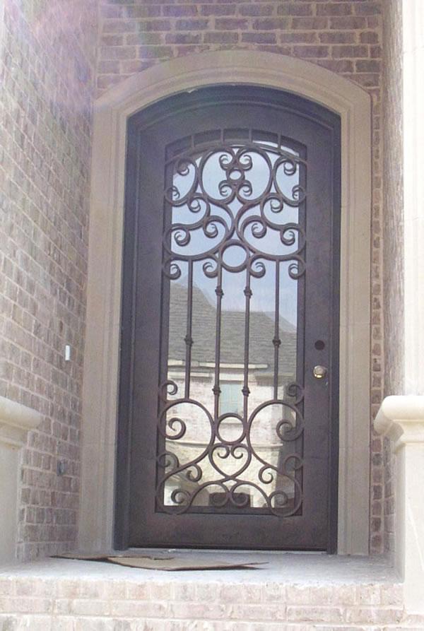 Productos de hierro forjado y acero inoxidable Puertas hierro forjado